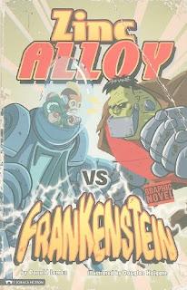 bookcover of Zinc Alloy vs Frankenstein