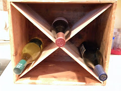 Wine Crate with wine bottles
