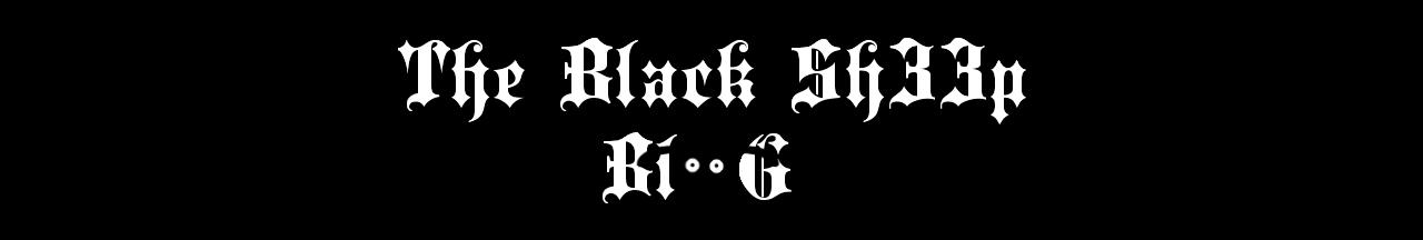 The Black Sh33p Blog