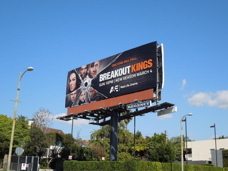 Breakout Kings season 2 billboard