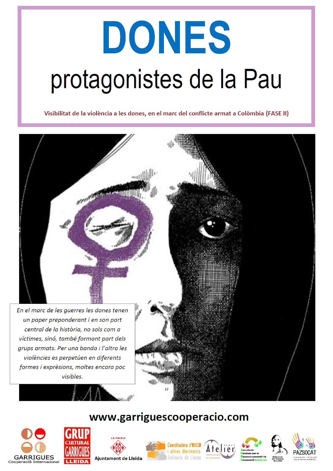 DONES PROTAGONISTES DE LA PAU