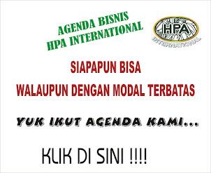 AGENDA BISNIS HPA INTERNATIONAL