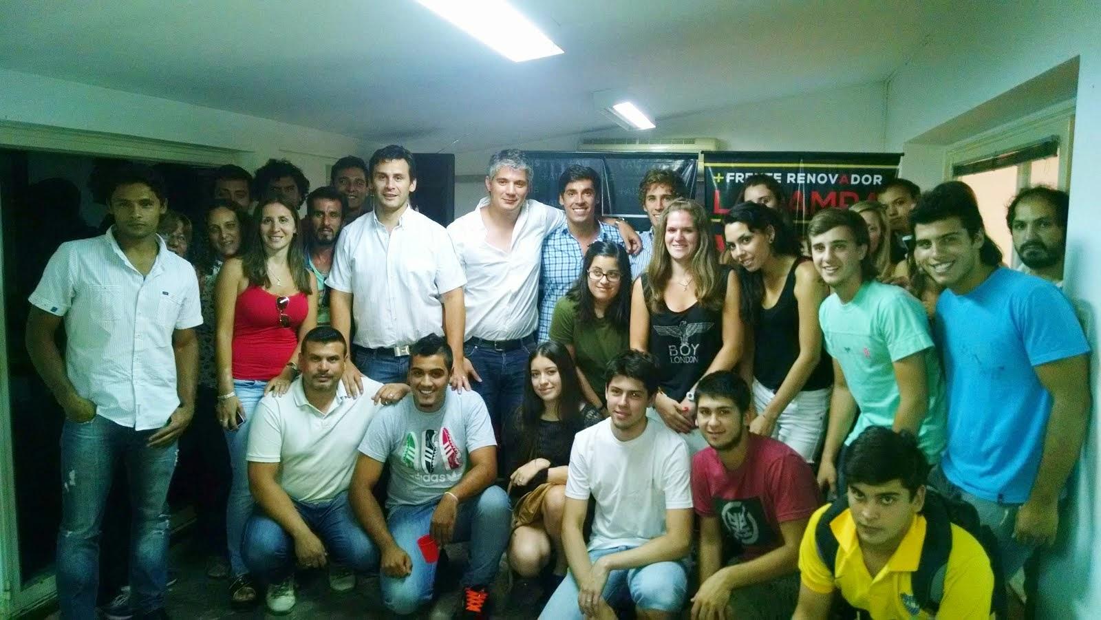 Jóvenes de Santa Rosa se reunieron con referentes pampeanos de Pueblo Nuevo