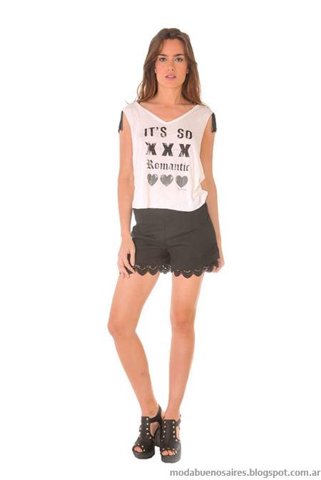 Ossira primavera verano 2014 moda mujer 2014.