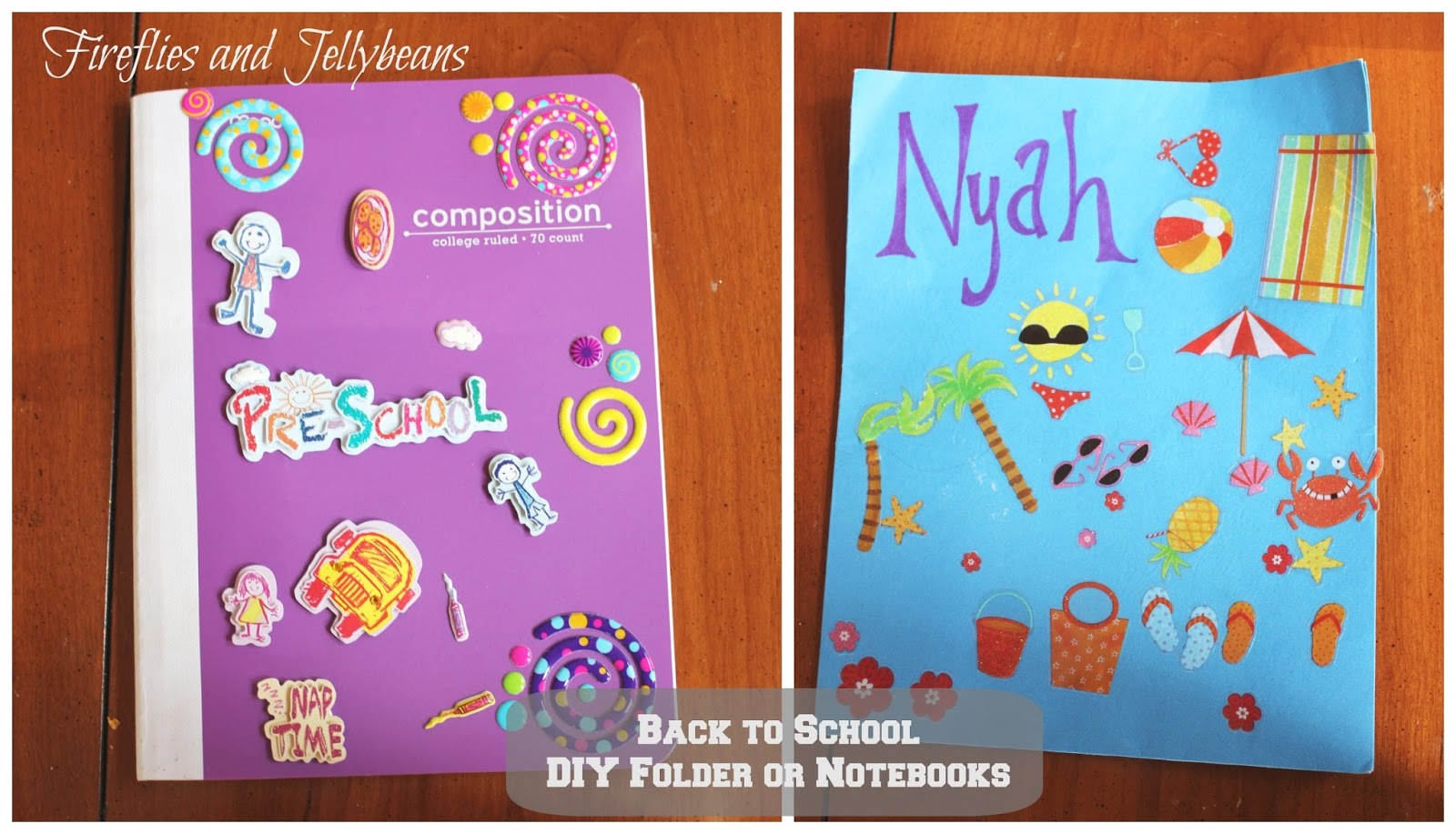 Fireflies And Jellybeans 3 Easy Diy Back To School Projects
