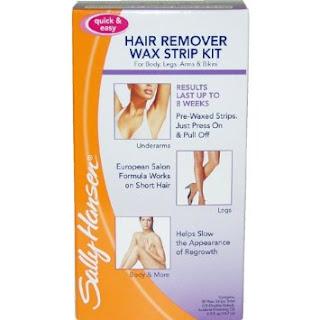 Real Chick Real Reviews: Sally Hansens hair remover wax ...