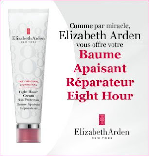 "105 Baumes apaisants réparateurs ""Eight Hour"" Elizabeth Arden à gagner"