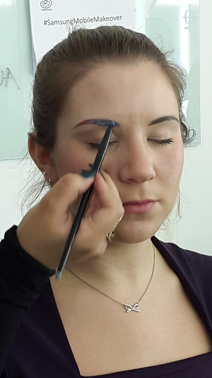 Illamasqua brow course coloured brows