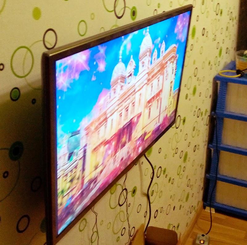 Телевизор LG 32LB650V  угол обзора
