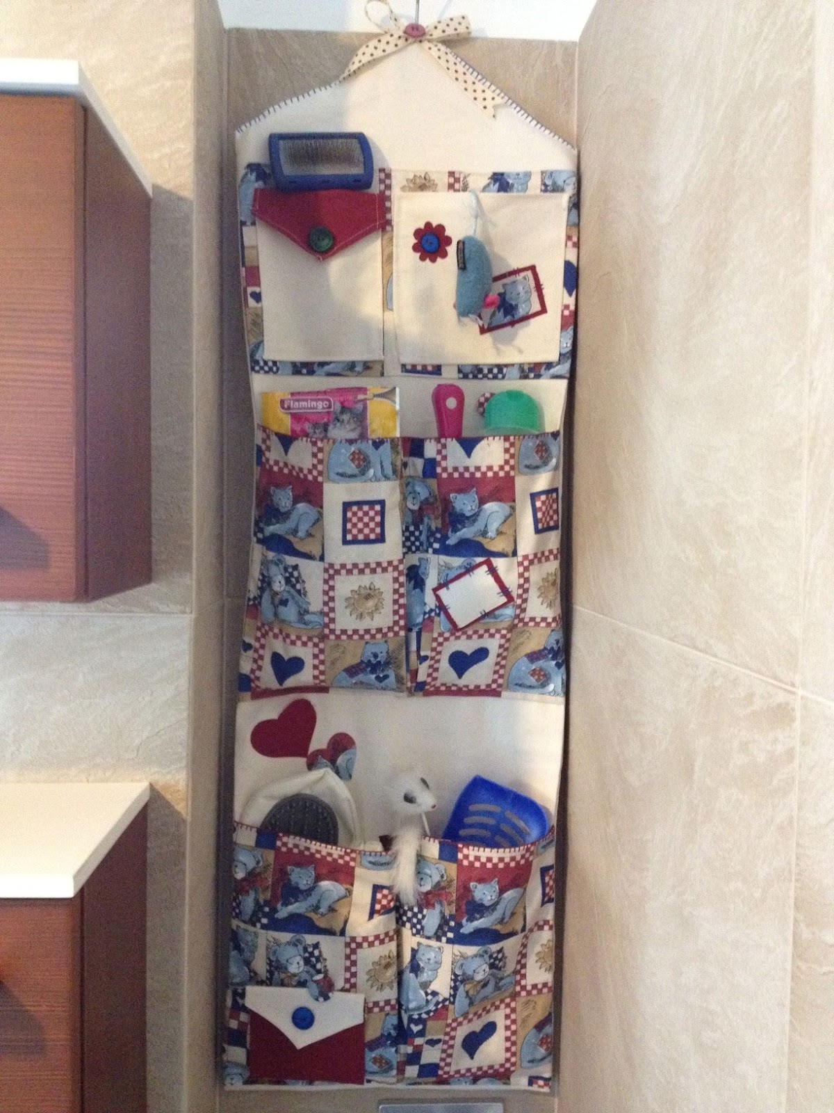 Riflessi creativi portaoggetti cucito creativo - Portaoggetti bagno ...