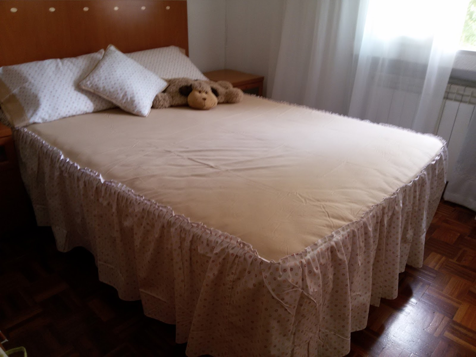 Novedades paola ideas para sabanas camas matrimoniales for Medidas sabana matrimonial