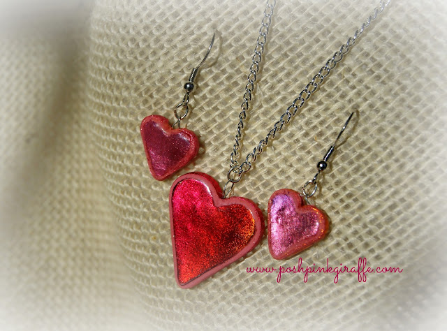 Sweet Heart {Polymer Clay} Jewelry from Posh Pink Giraffe