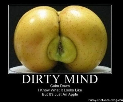 Dirty mind picture test funny