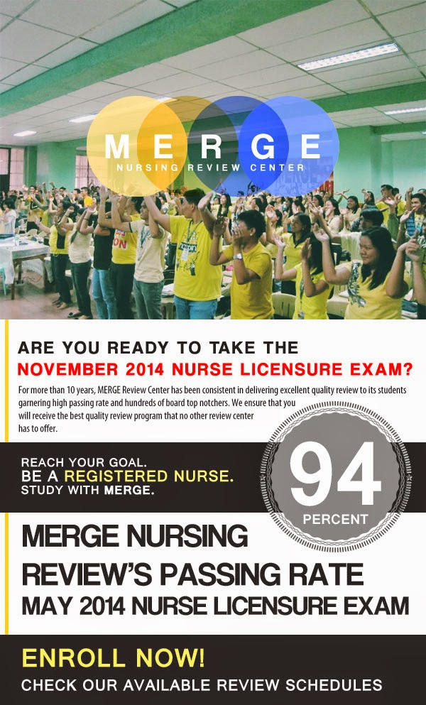 For more than 10 years, MERGE Review Center has been consistent in delivering excellent quality review to its students garnering high passing rate and hundreds of board top notchers. We ensure that you  will receive the best quality review program that no other review center  has to offer.