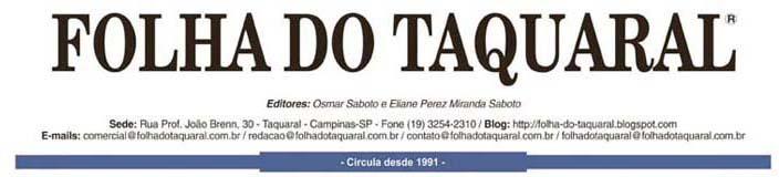 Jornal Folha do Taquaral