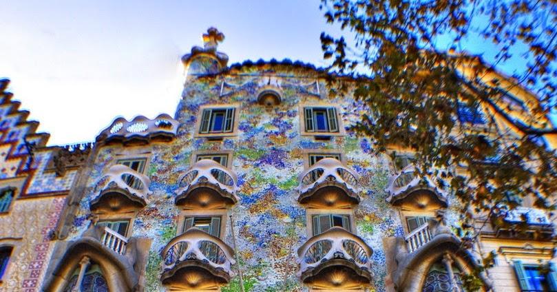 Architecture casa batll antoni gaudi barcelona spain - Natura casa barcelona ...