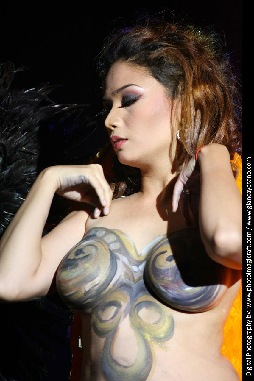 viva hot babes naked body paint 07