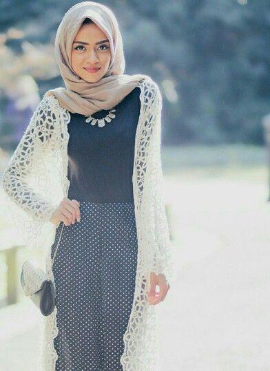 original gambar outfit hijab woman