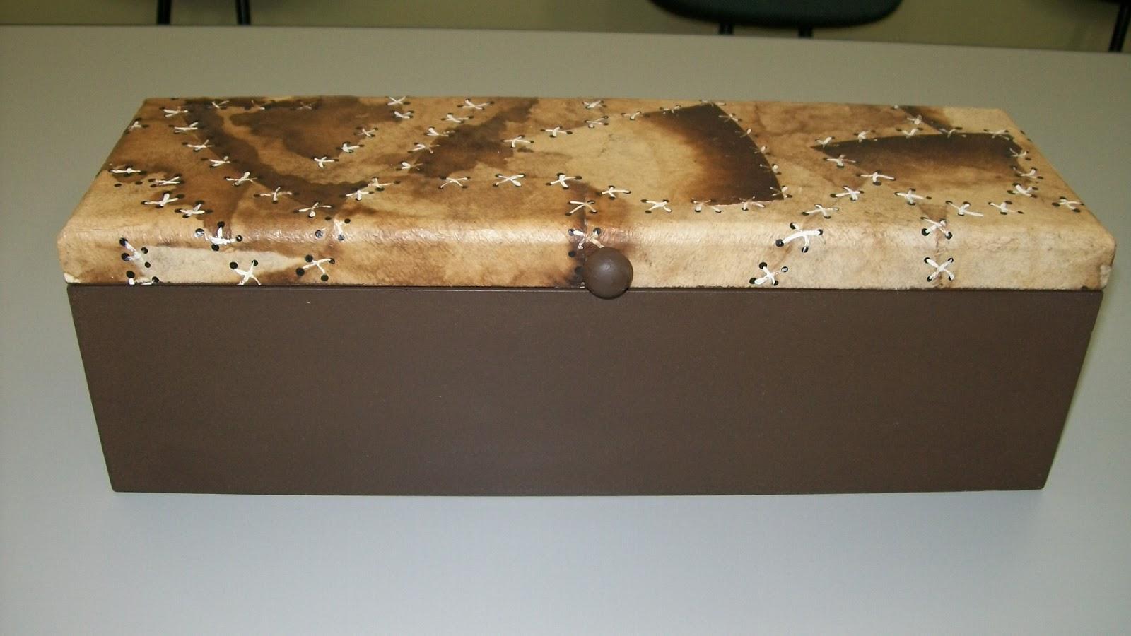 FTP O Artesanato que Você Pode Fazer!: Caixa de MDF para Garrafa #8D6C3E 1600x900
