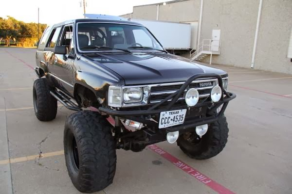 1987 Toyota 4runner Custom 4x4 Cars