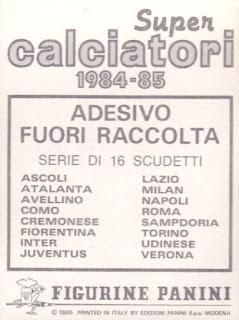 figurina CALCIATORI PANINI 1988//89 NEW numero 318 SAMPDORIA BONOMI