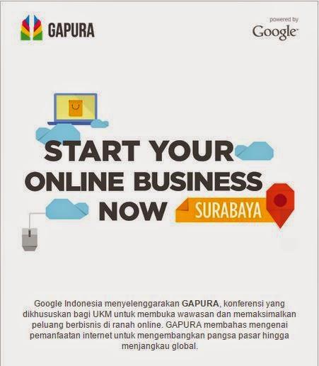 Start your online Business Now | Gapura 2015 | Google Indonesia