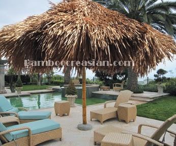U003dBamboo Patio Umbrellas Thatch Palapau0026 Thatched Palapa Patio Umbrella  Garden U0026 Outdoor Buy Bamboo Umbrellas U0026 Palapas : Pool U0026 Tropical Outdoor  Decor   10u0027 ...