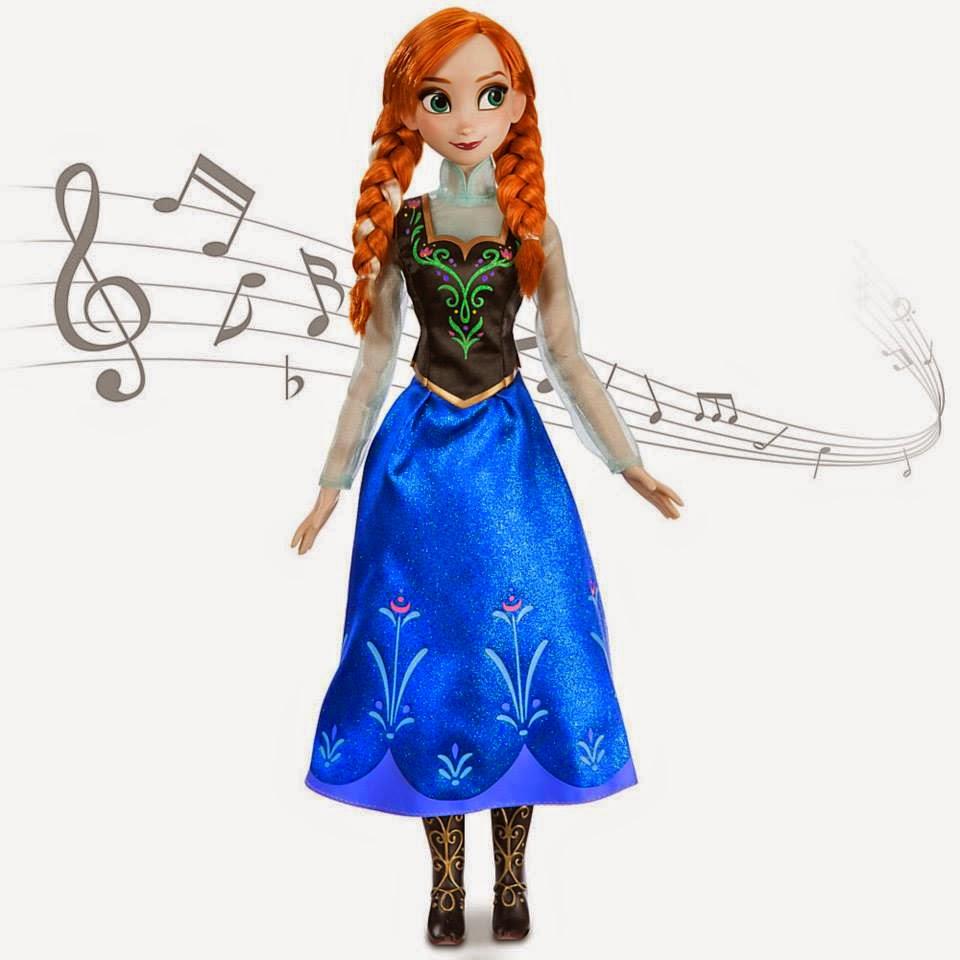 Gambar boneka anna frozen untuk anak