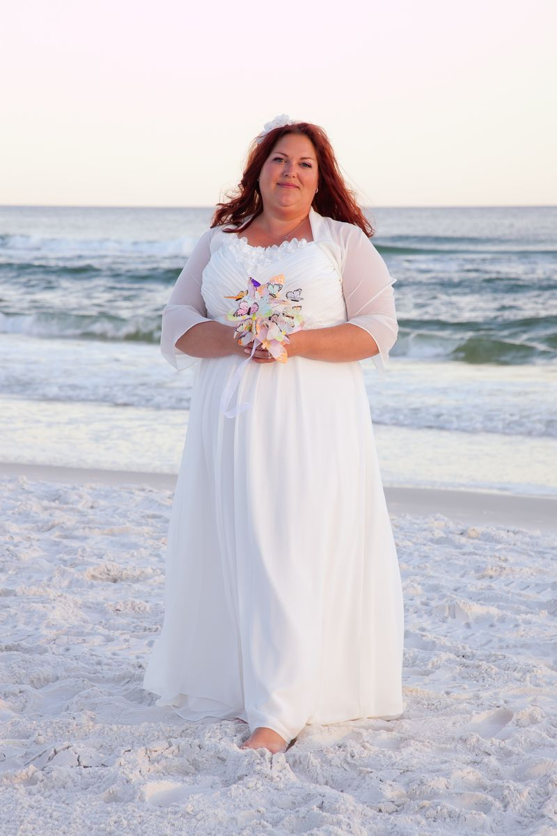 Plus size beach wedding dresses 2015 for Cheap beach wedding dress