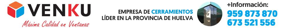 Cerramientos en Huelva · VENKU · 959 873 870 y 673 521 556