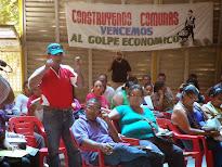 Comuneros larenses escogieron a delegados del Consejo Presidencial de Gobierno Popular
