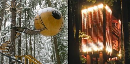 Rumah Pohon Menakjubkan dan Kreatif dari Seluruh Dunia [lensaglobe.com]