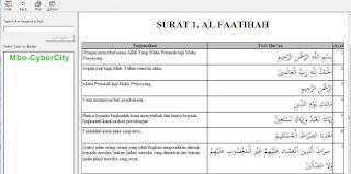 AlQuran Digital dan Hadits