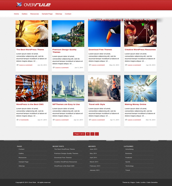 OverRule WordPress Theme