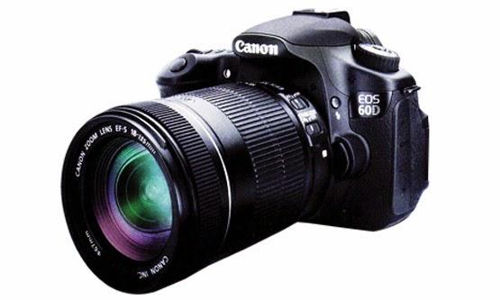 Harga dan Spesifikasi Kamera Canon EOS 60D Lengkap