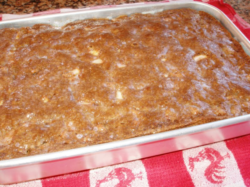 apple cake with butter sauce azoresgal life on an island