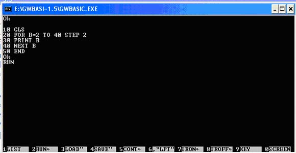 gw basic Programing with gw-basic - download as word doc (doc), pdf file (pdf), text file (txt) or read online.