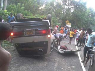 First Southern Highway Accident Which Two Persons Died photos