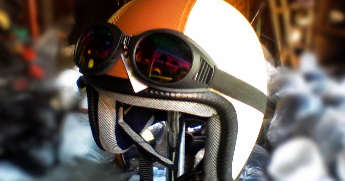 Helm Retro Avatar Helm Vespa