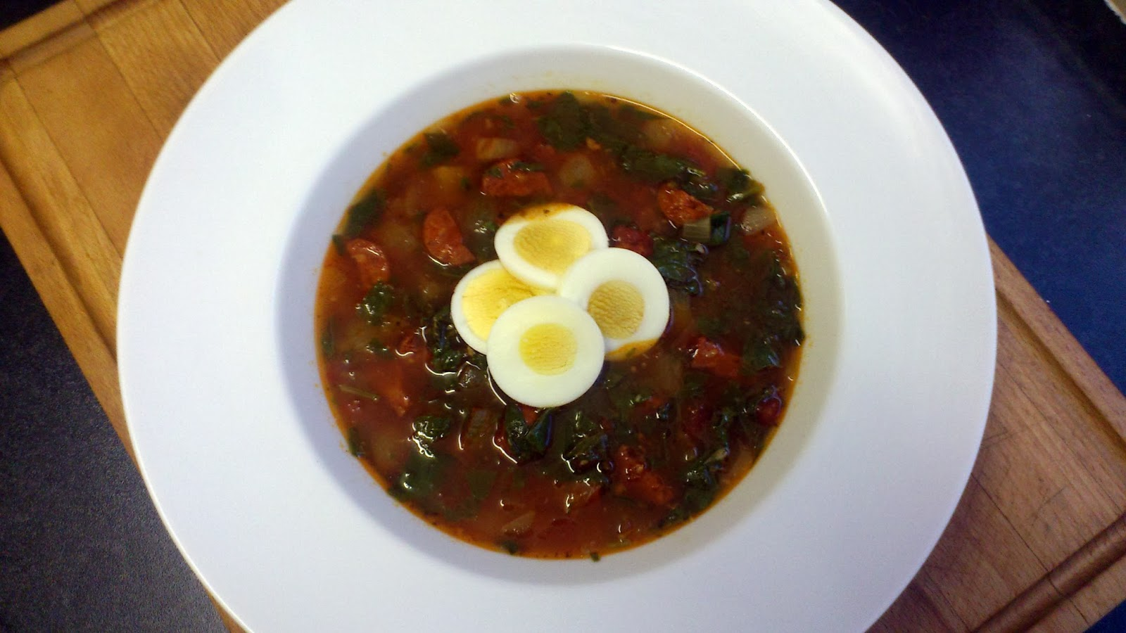 Soup Tuesday: Spanish Chickpea and Chorizo Soup