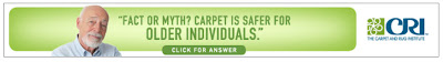 Fact or Myth? Carpet is Safer for Older Individuals.