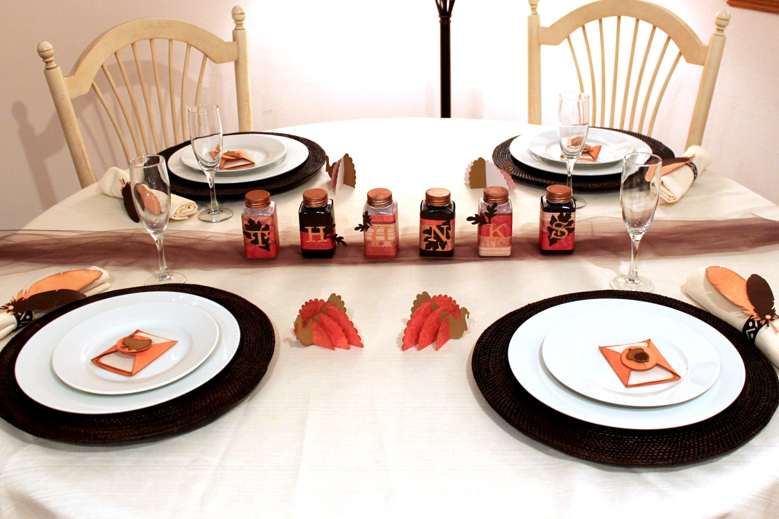... My Crafts Blog: Thanksgiving Table Decor Featuring Lifestyle Crafts