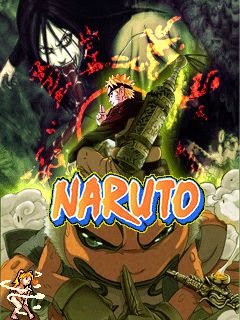 Screenshots of the Naruto for java mobile, phone.