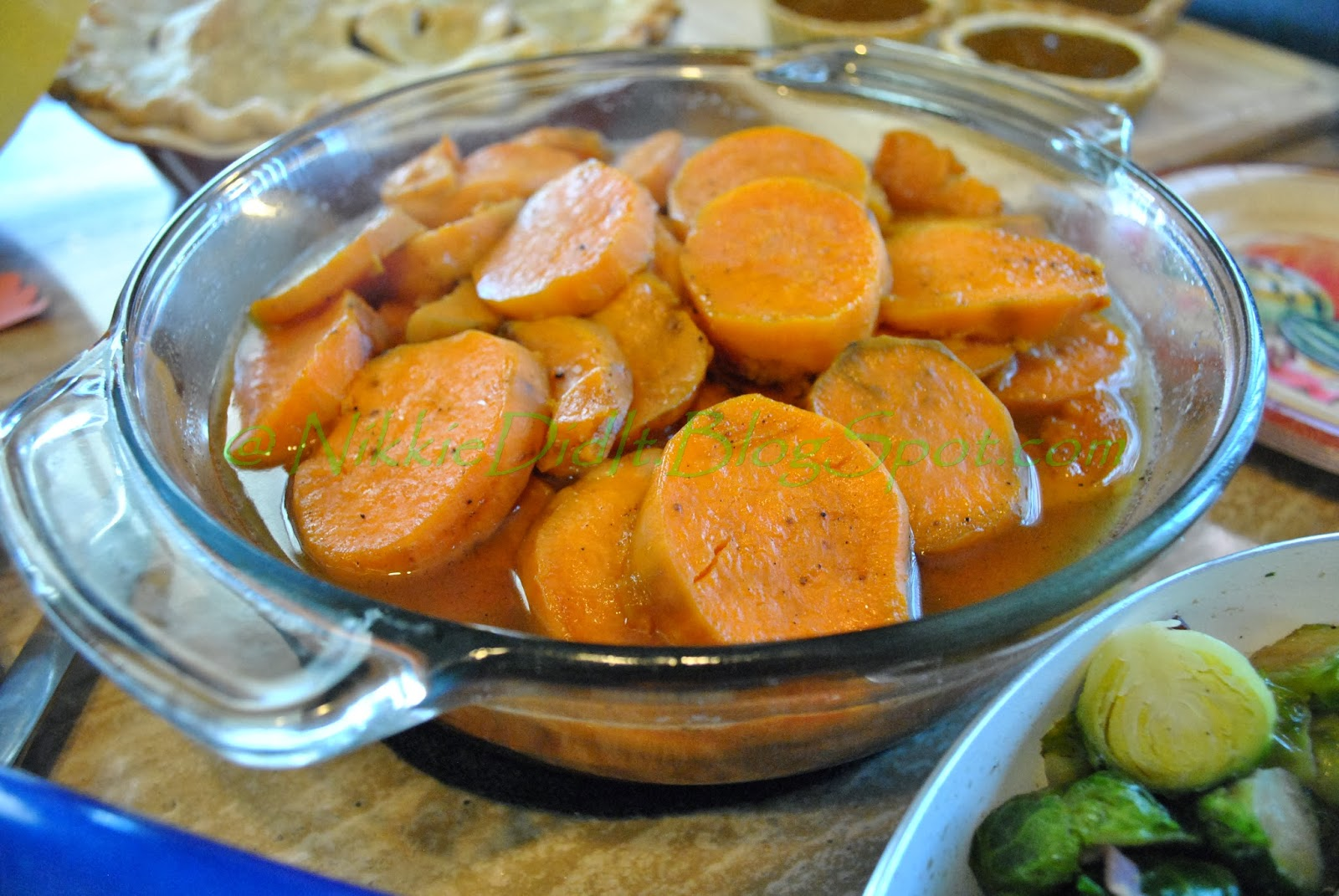Nikkie Did It * : Candied Bourbon Sweet Potatoes