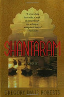 Cover of Shantaram by Gregory David Roberts