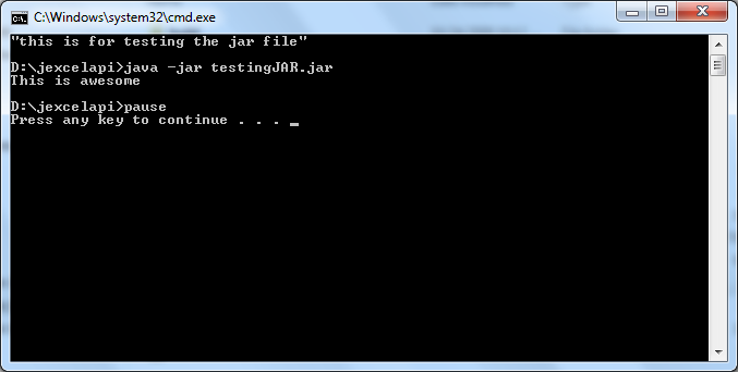 how to write a batch file to run multiple commands