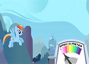 Rainbow Dash Rainboom Game