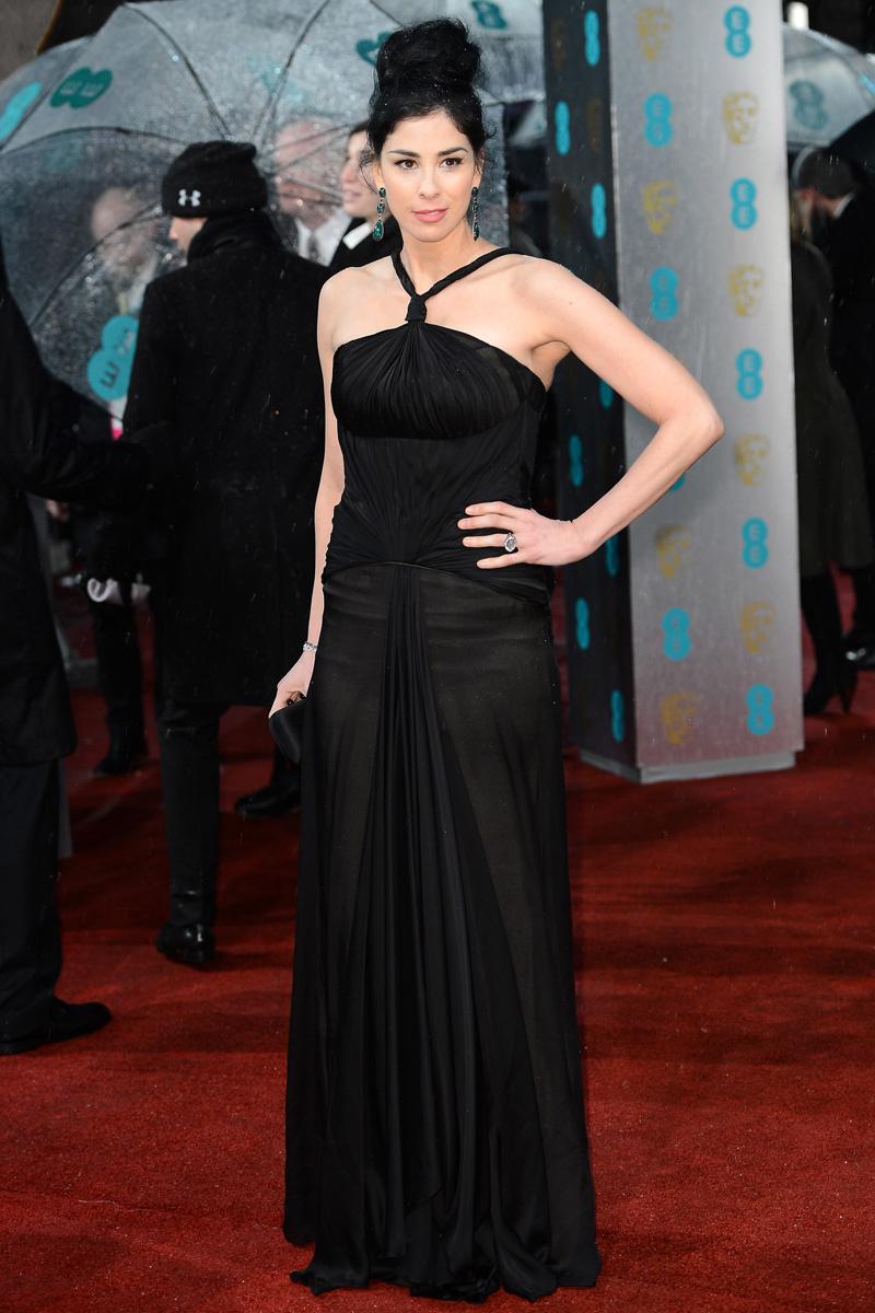 Sarah Jessica Parker vestido de novia Negro