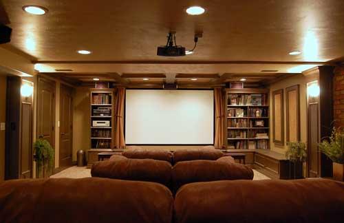 Winnetka A V Home Theater Ideas