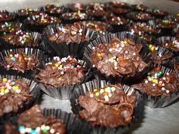 gambar kue coklat cornflake